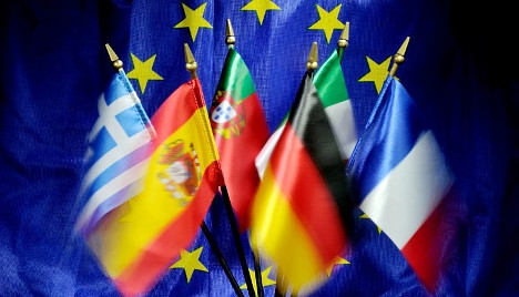 1401039925_EU flags by Philippe Huguen AFP